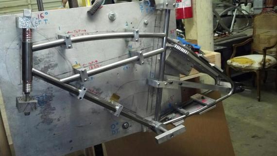 Bike frame Jig - MUSCLE BIKE FORUM