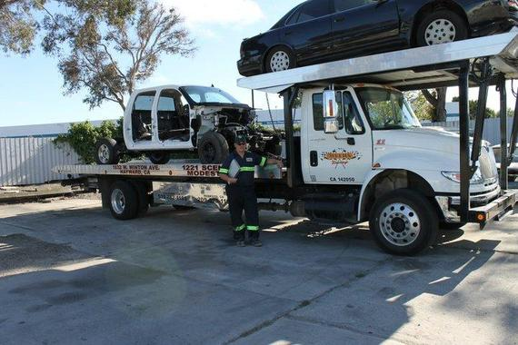 Tow Truck 3 Car Carrier For Sale