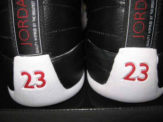 661a3ea3e2a JUST ARRIVED JORDAN XII PLAYOFF s (Black white).... HELP... Fakes ...