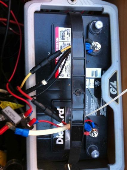 trolling       motor    battery issues  1997 Pantera II  Bass Cat