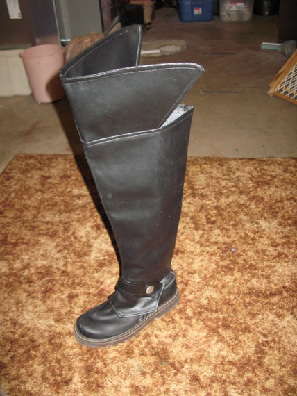 how to make pirate boots costumes for christ