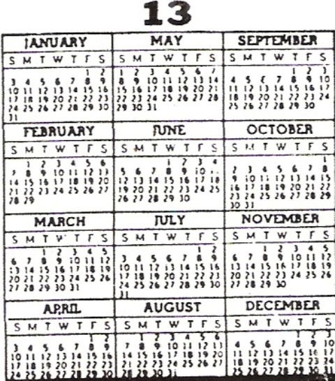 "Perpetual Calendar 1800 To 2050 : Search results for "" to year calendar"