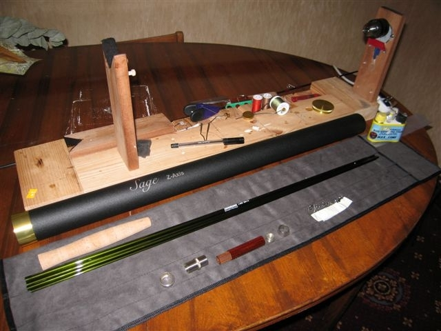 Grayling tackle for Build your own fishing rod