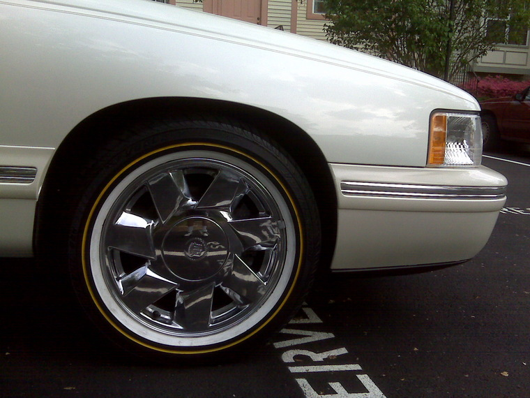 pin vogue cadillac dts on rims on pinterest