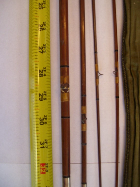 antique & collectible fishing rods identification & value guide