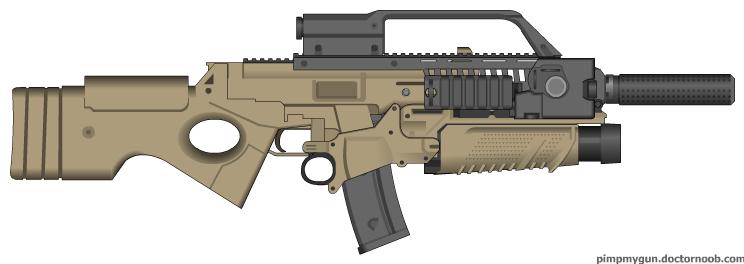 assault rifle gun. Here#39;s my Assault Rifle: