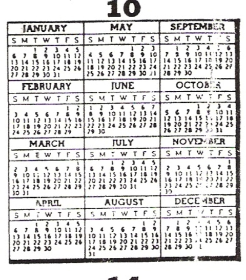 Perpetual Calendar 1800 To 2050 : To year calendar search results