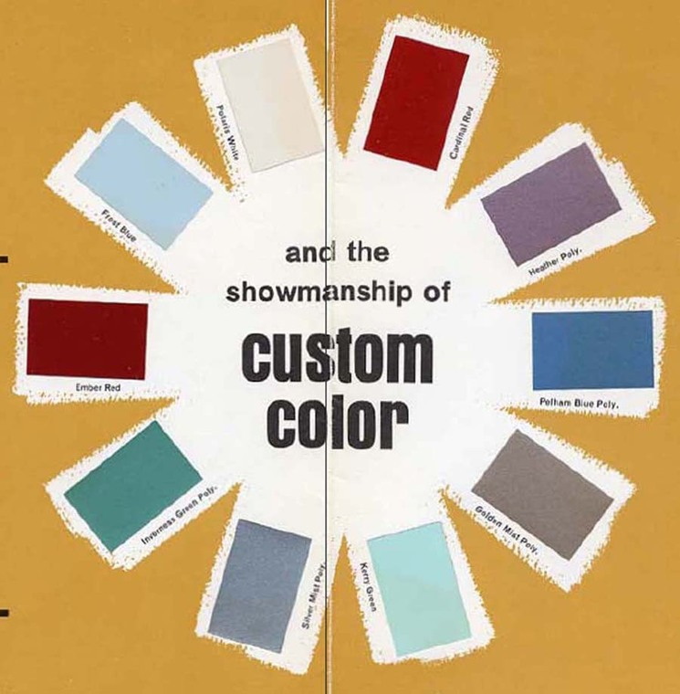 The Stainback Organization: What Were The Gibson Custom Colors Of The 60's?