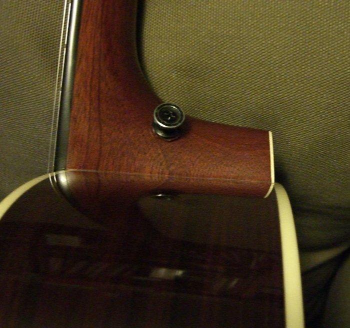 Strap Button Position The Acoustic Guitar Forum