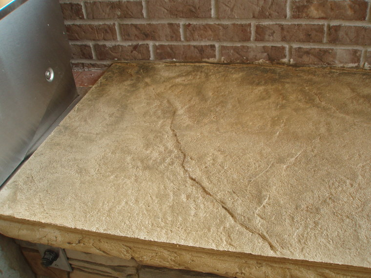 Countertop Resurfacing Materials : Related image with Diy Concrete Countertop Overlay