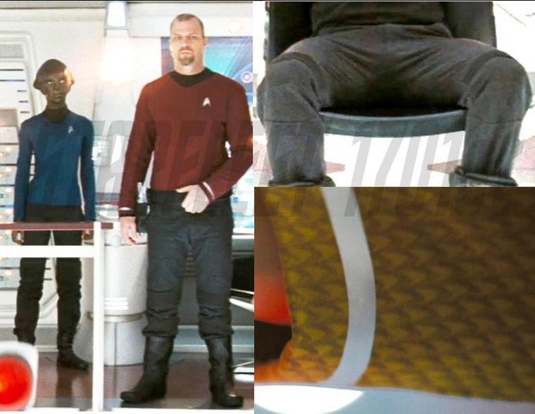 St Movie Uniform Details Star Trek Starfleet Uniform