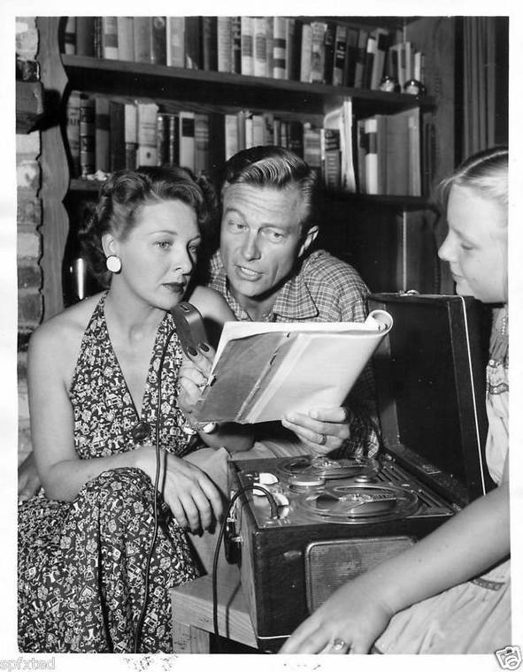 Image result for richard denning and evelyn ankers wedding