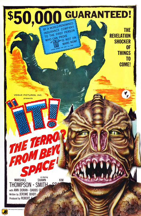 50s scifihorror poster collage images classic horror