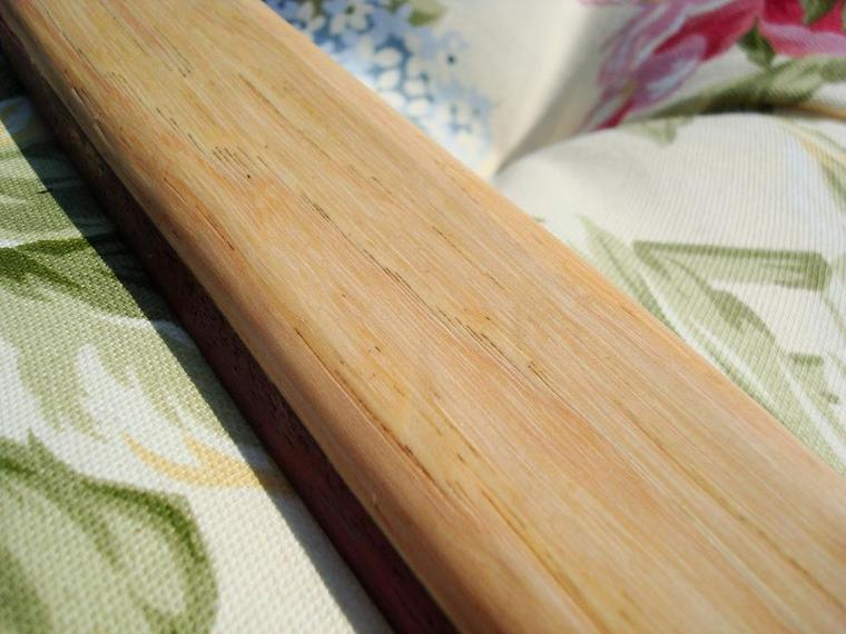 3rd bow hickory backed purple heart flat bow paleoplanet for Hickory flat