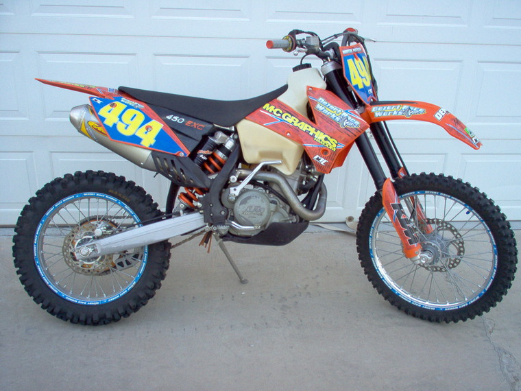 Ktm 450 Exc For Sale. 2006 KTM 450 EXC $3500