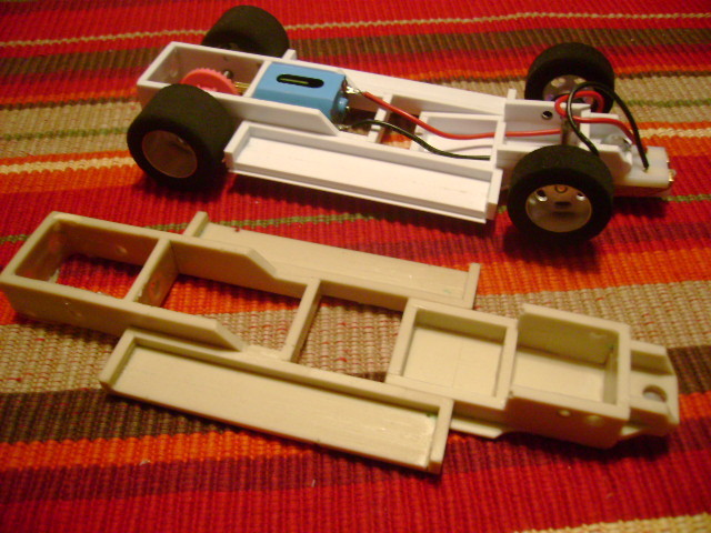 Pcb slot car chassis history of poker in america
