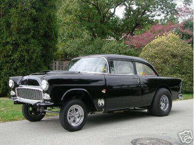 """55 Chevy"""" used by Paramount Studios was for sale on ebay, above"""