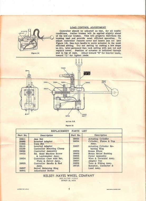 Wiring Diagram Kelsey Brake Controller : Kelsey hayes brake controller repairingyesterdaystrailers