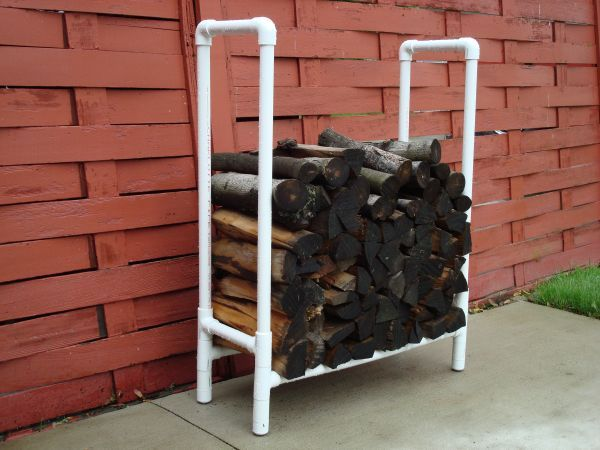 Small Firewood Storage Rack in Home Improvement/Workshop Projects ...