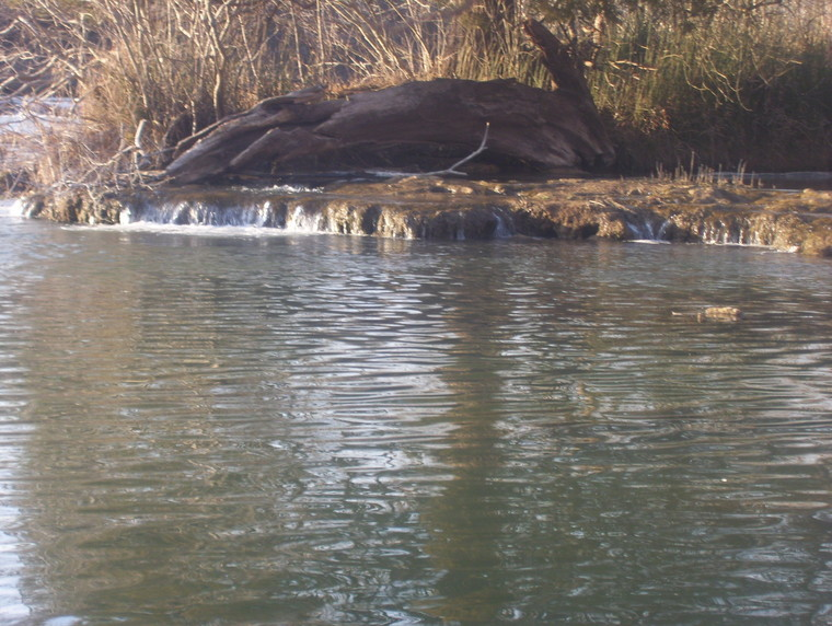 Ultralight fly fishing the blue river oklahoma for Trout fishing in oklahoma