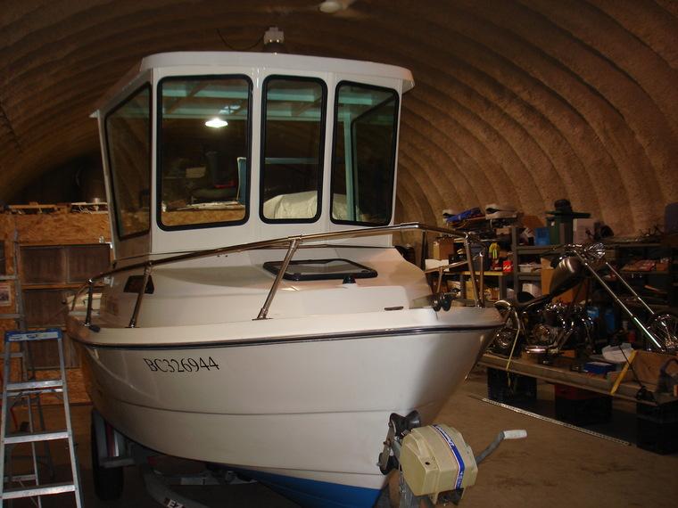 One secret: Aluminum pilot house boat plans