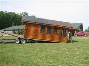 (picture Shown For Transport Example Only...not Picture Of Cabin For Sale).  3 Pics Above Are Of Actual Cabin.
