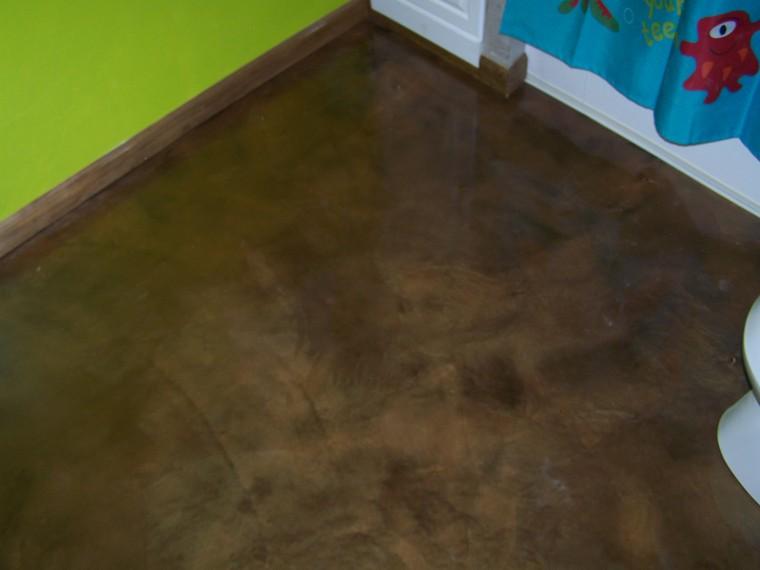 Re Epoxy Bathroom Floor Concretelocator Com