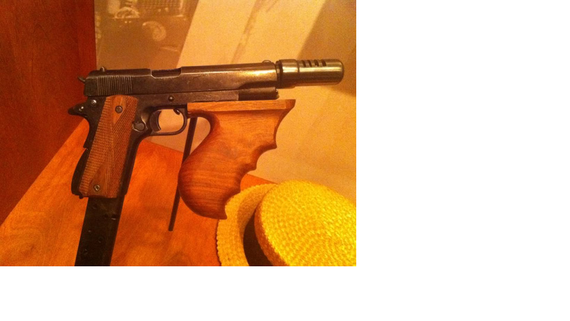 lebman 1911 machine pistol