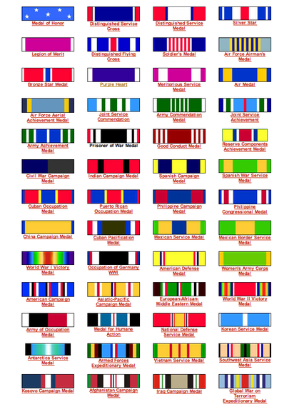 how to order military medals