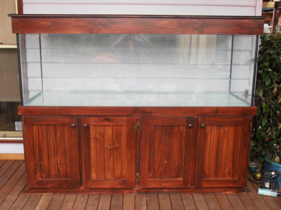 Betta fish tanks 6ft 6x2x2 aquarium stained cabinet and for Betta fish tanks for sale