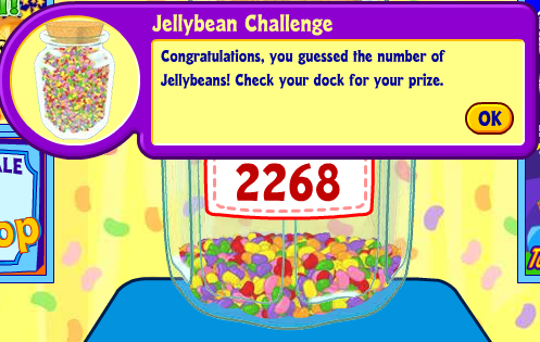 Jellybean Challenge - Tracking the Winning Numbers for the Day
