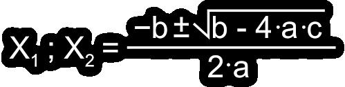 Fórmula Resolvente con la Calculadora