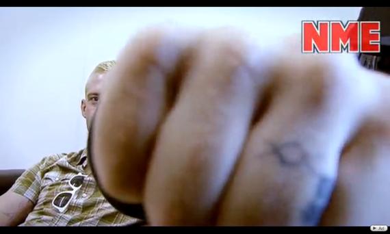 Limp Bizkit, Masonic compass tattoo? Korn, Masonic knecklace