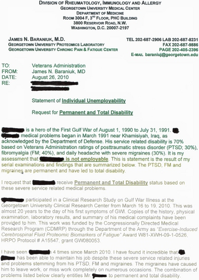 Denial of va disability claims what you need to know for Va nexus letter template