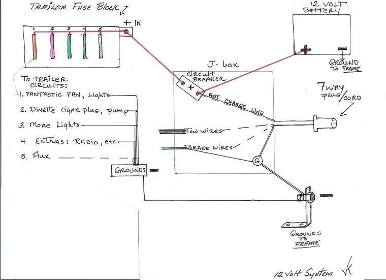 12 Volt Trailer Wiring Diagram: Nice 12 Volt Wiring Images - Electrical Circuit Diagram Ideas ,Design